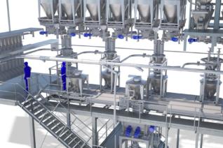 Industrie Rendering Visualisierung 3D Eder Stefan