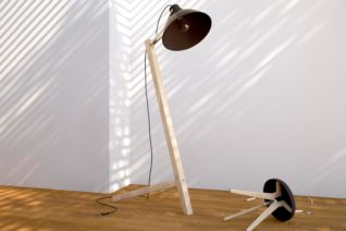 3D Produkt Stefan Eder Rendering Lampe
