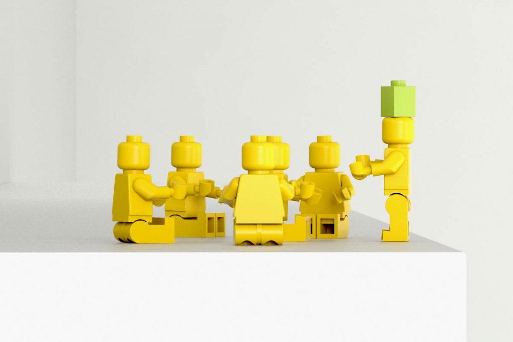 Lego 3D Visualisierung Produkt Entwicklung
