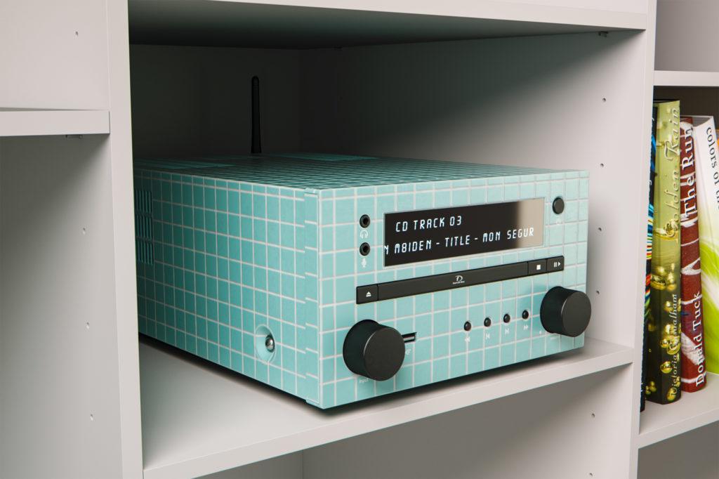 Stefan Eder Fliesen Radio 3D Rendering Agentur