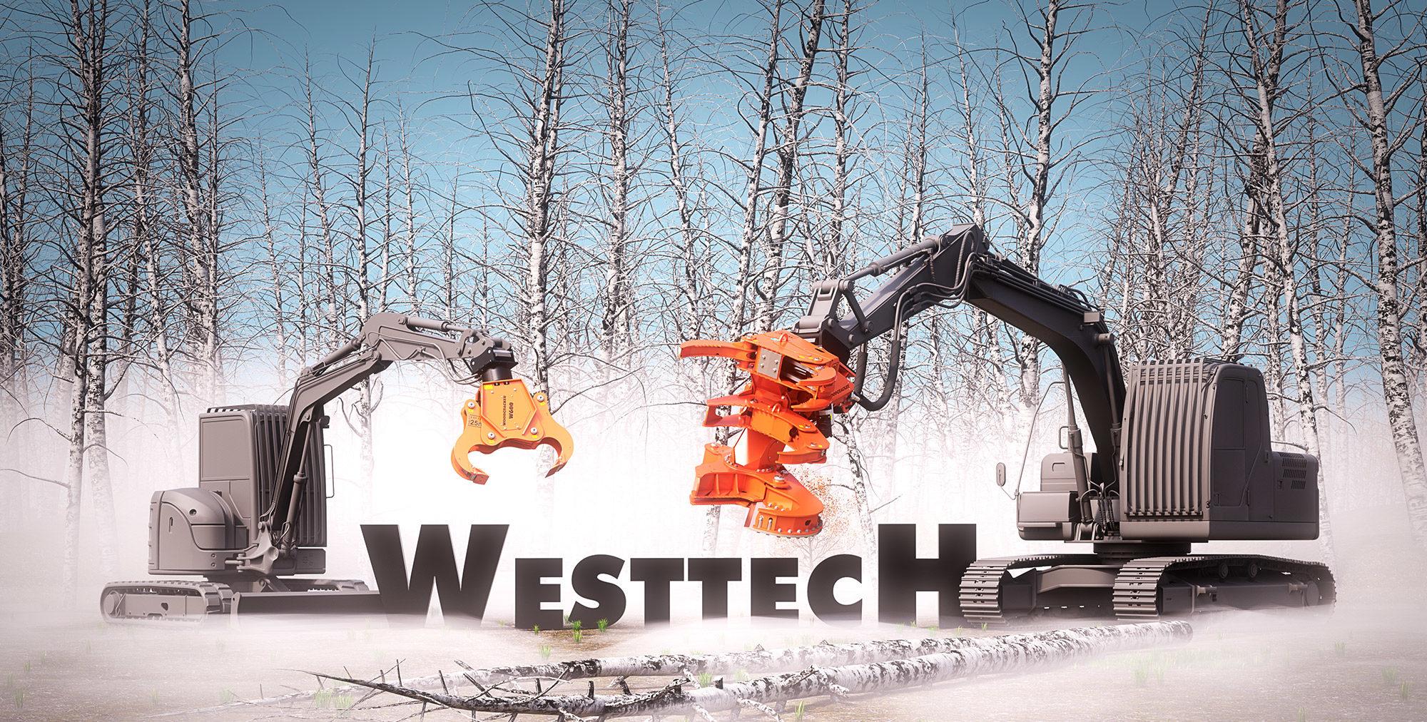 Westtech Maschinen 3D Rendering Stefan Eder