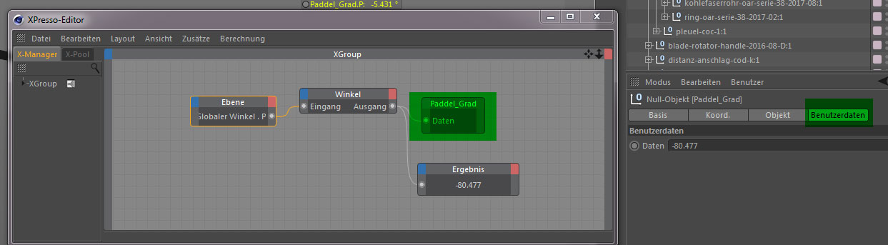how to render/show Cinema 4D Custom Live HUD Data – Stefan