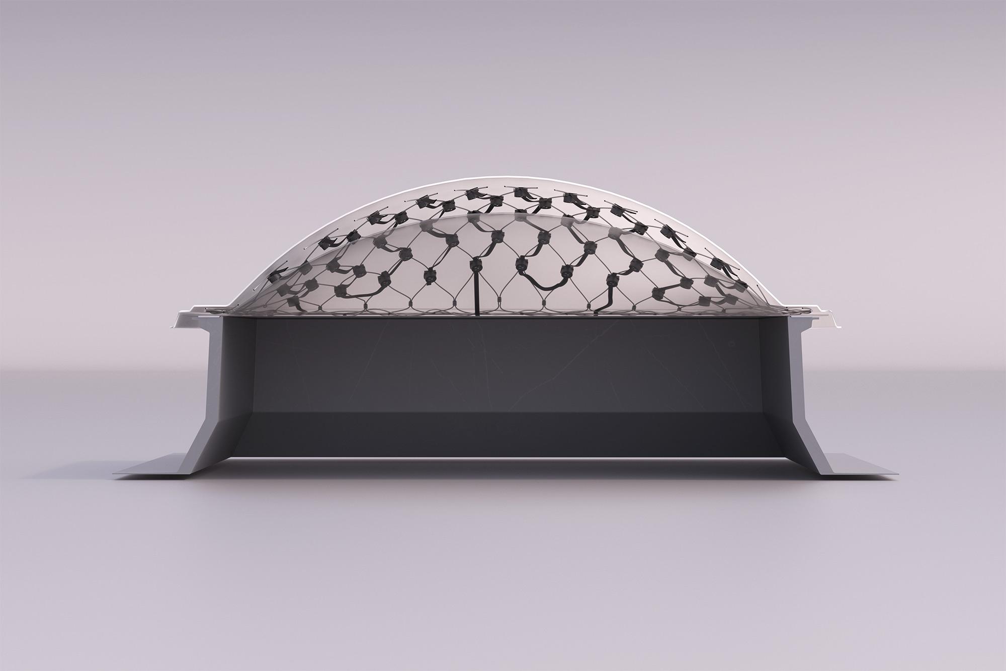 3D Rendering LED Netz Produkt