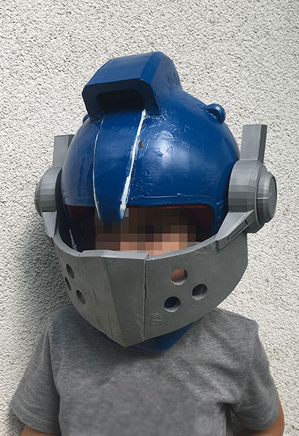 Lego Nexo Knight Helmet DIY finish