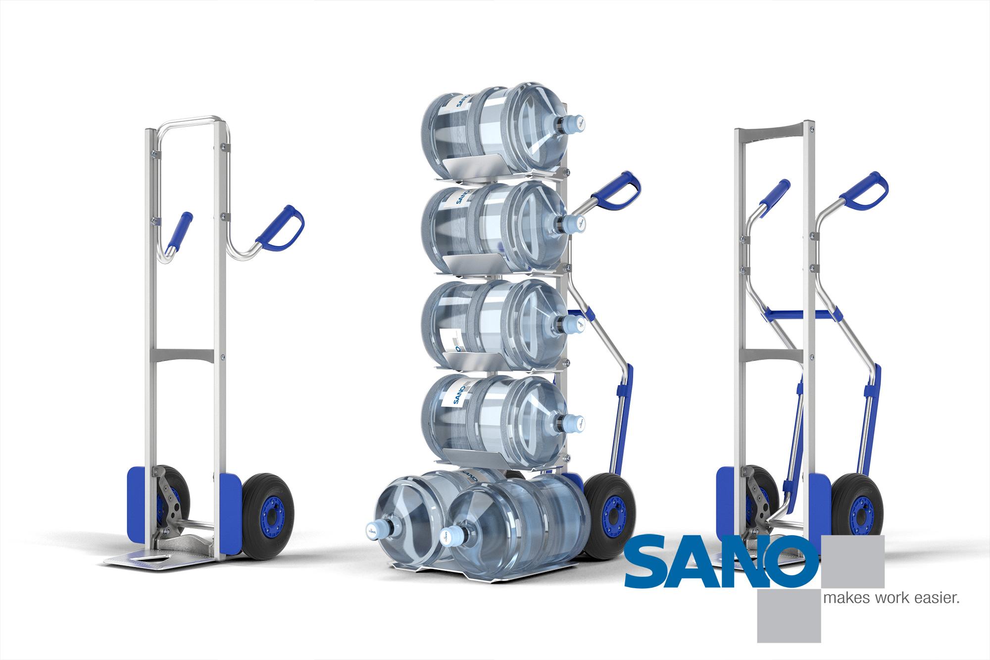 Produkt Rendering Sano Modulkar