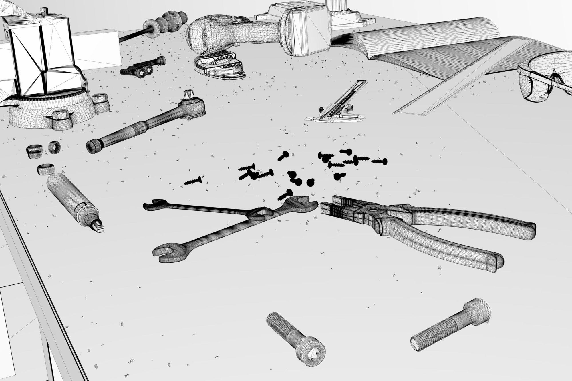 3D Rendering Werkstatt Eder Stefan