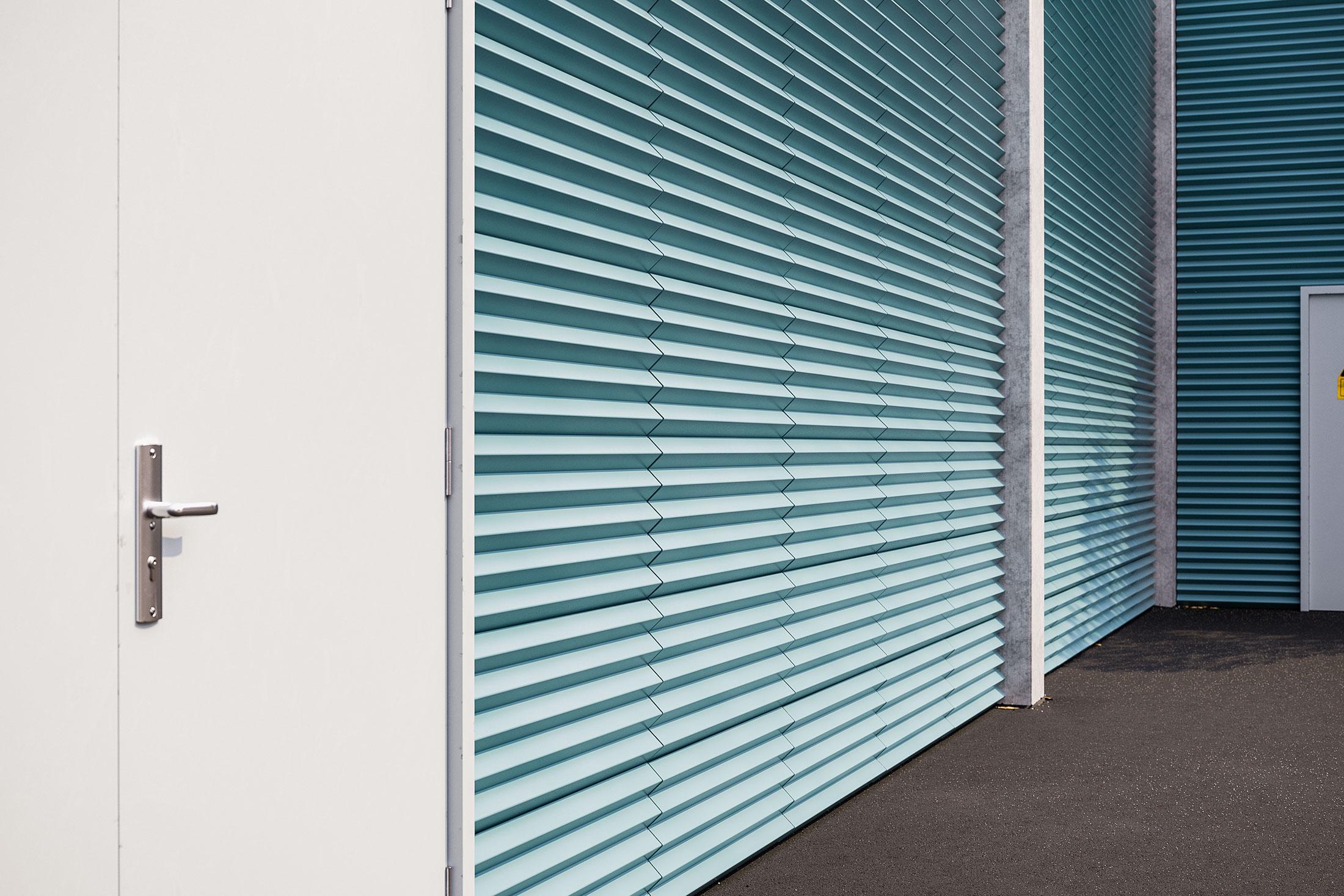 3D Visualisierung Stefan Eder Fassadenenblech Beton - Oberösterreich Österreich Produkt Rendering