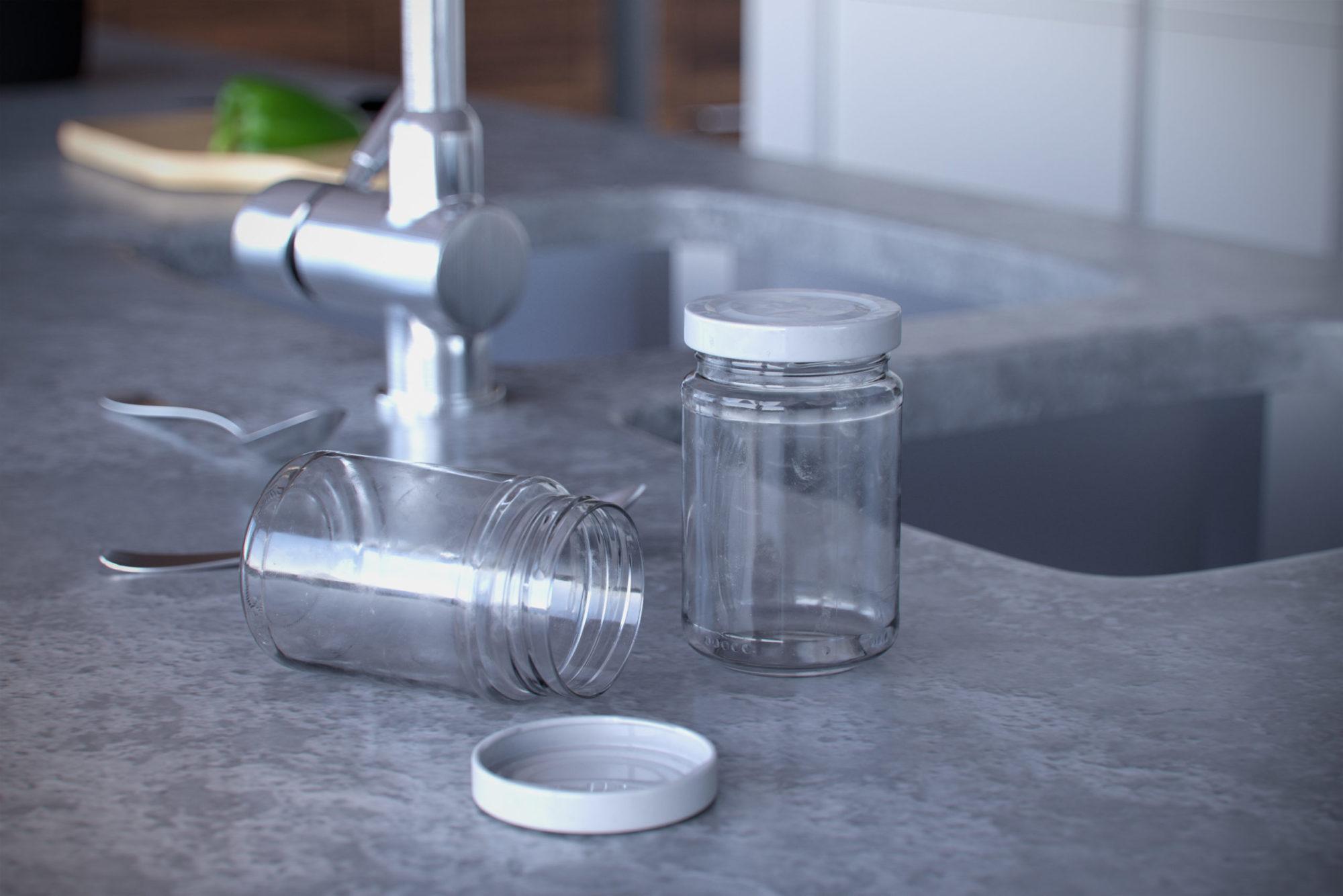 Marmeladeglas 3D Rendering Eder Stefan Österreich