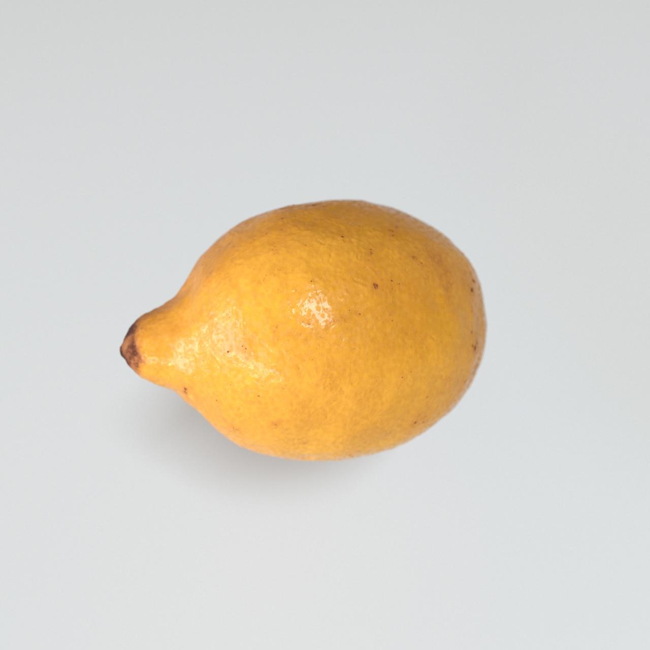 Zitrone Gelb 3D Rendering Eder Stefan Grieskirchen