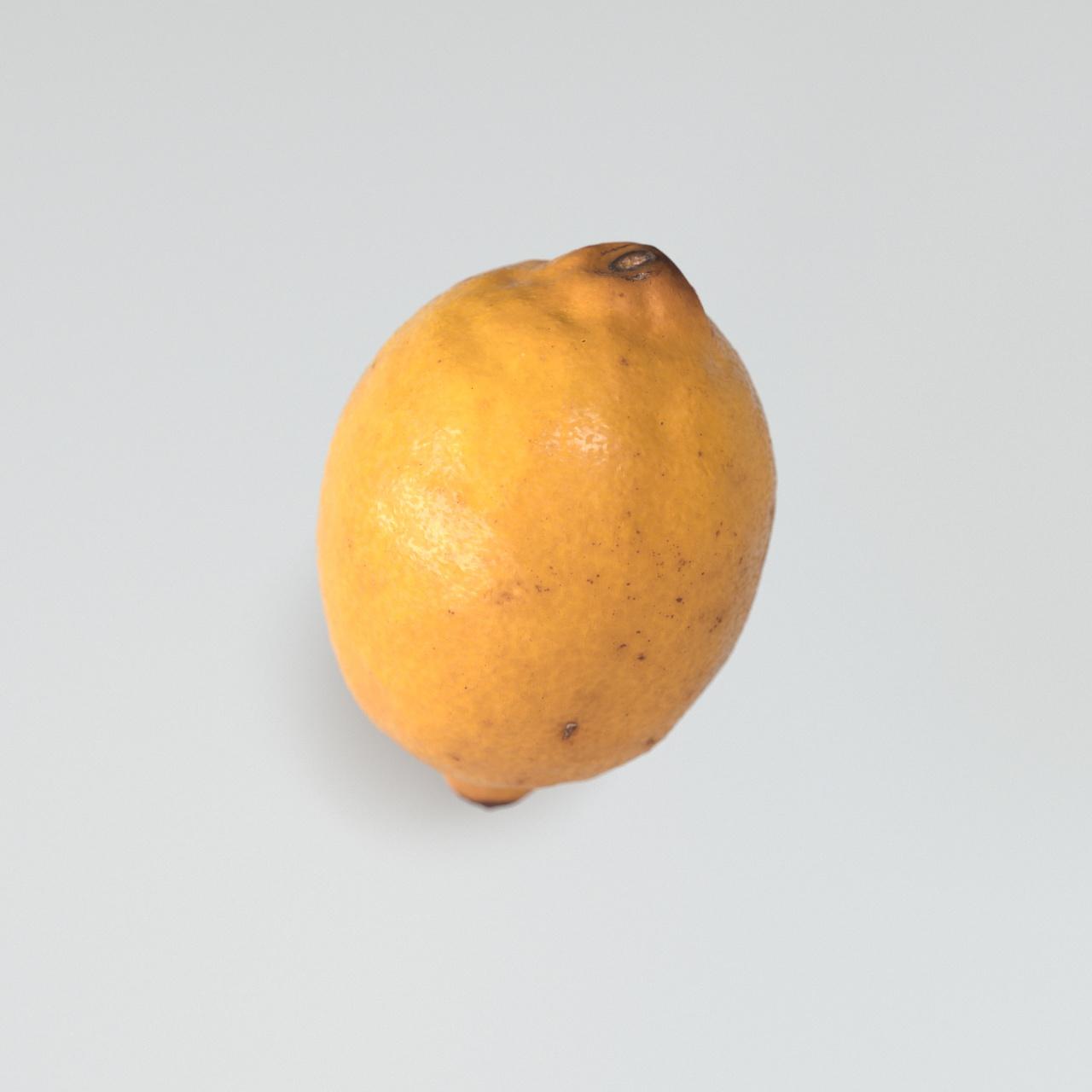 Zitrone Gelb 3D Rendering Eder Stefan Schärding