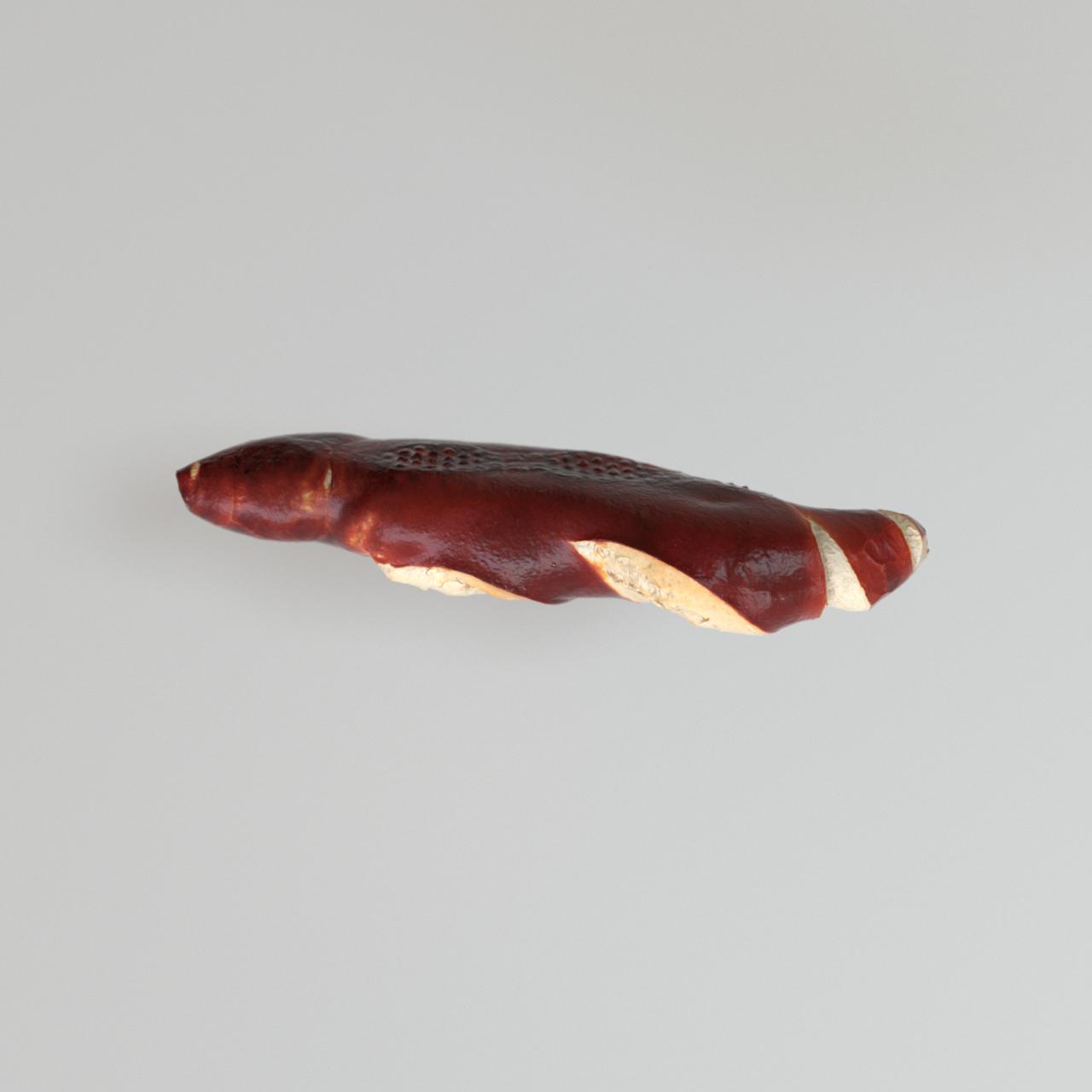 Eder Stefan Laugenstangerl 3D Rendering Gebäck Visualisierung Brot Linz